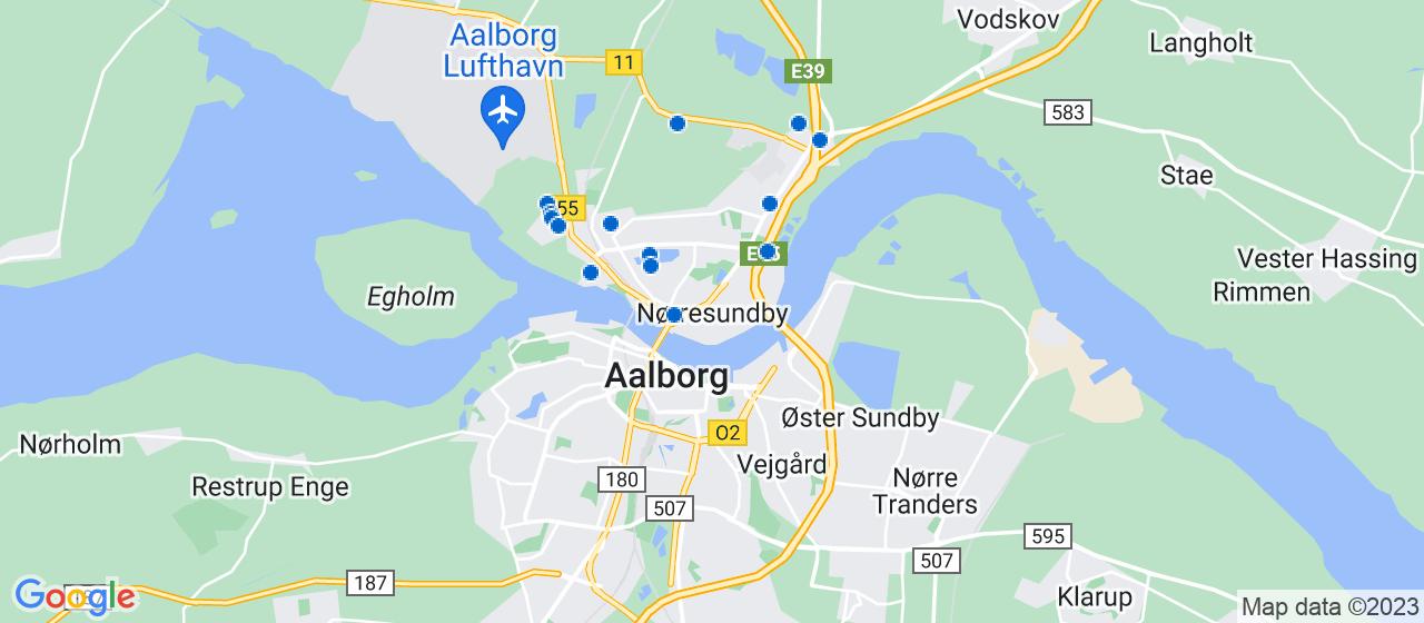 entreprisefirmaer i Nørresundby