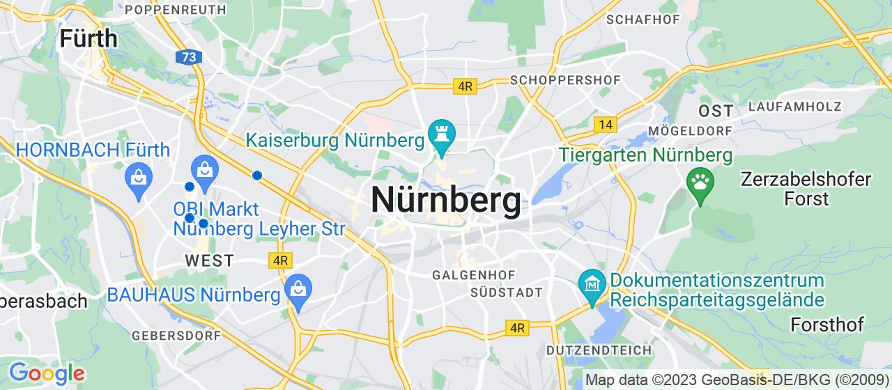 Umzugsunternehmen i Nürnberg