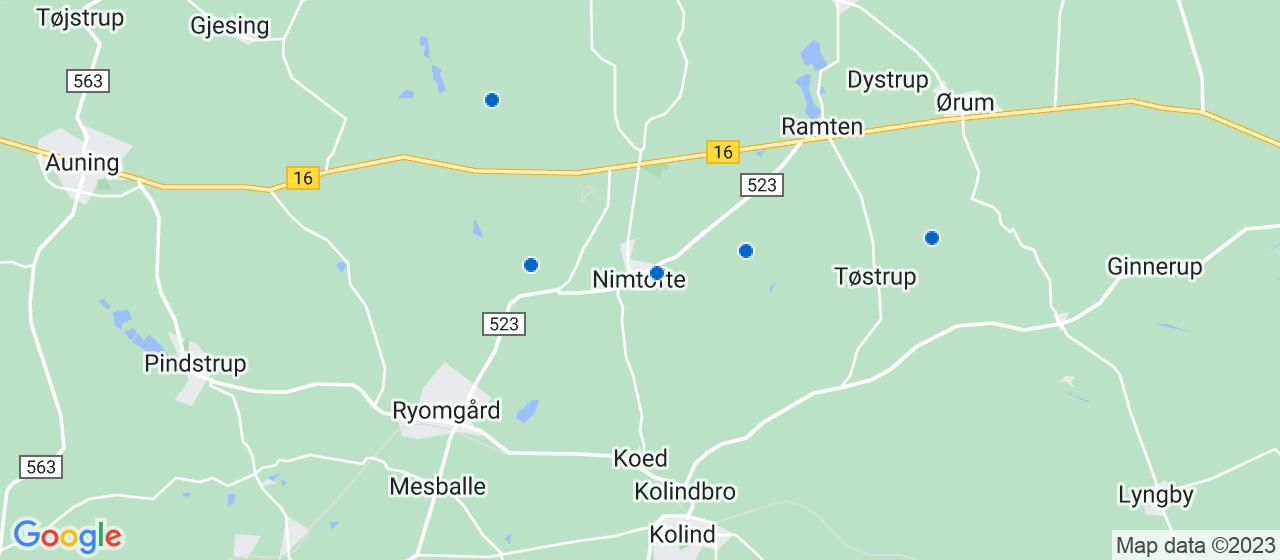 tømrerfirmaer i Nimtofte