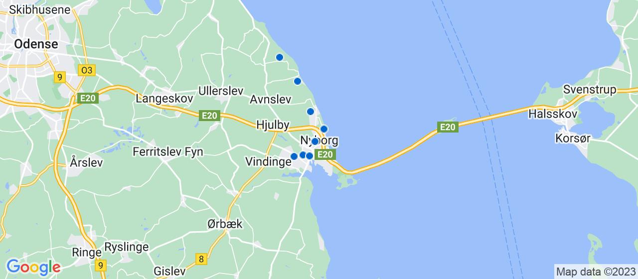 malerfirmaer i Nyborg