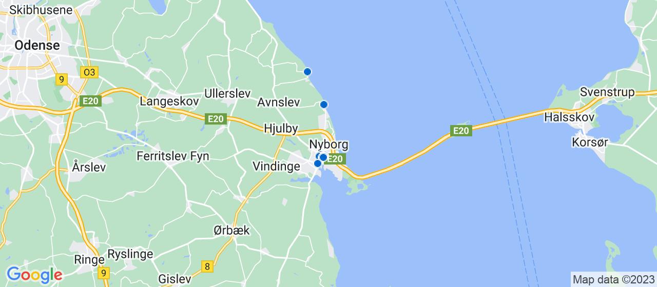 tandlæger i Nyborg