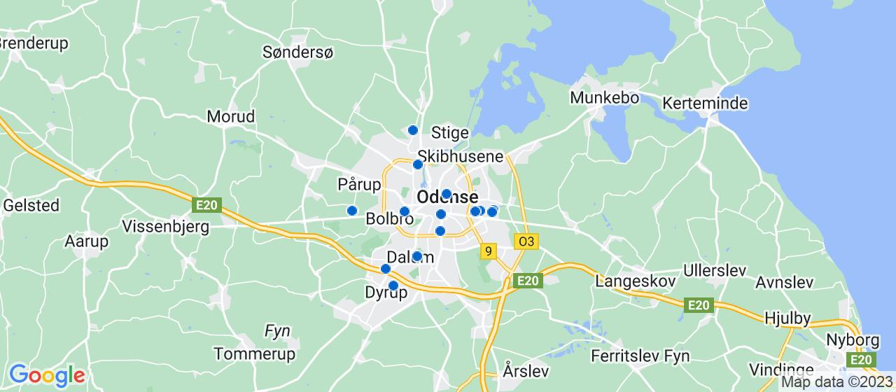 mekaniker firmaer i Odense