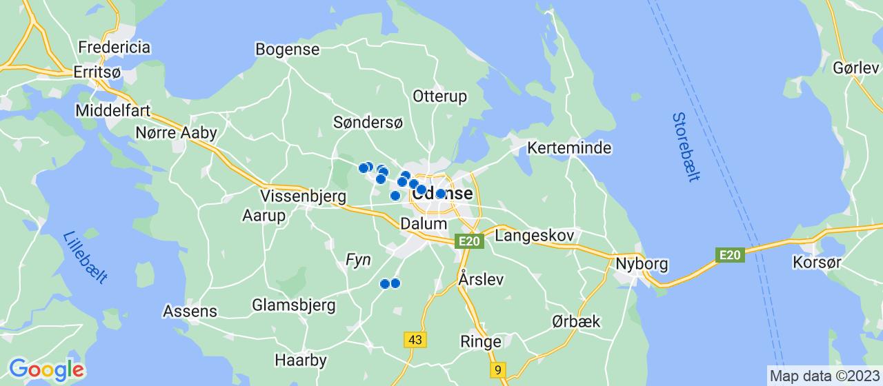 anlægsgartnerfirmaer i Odense