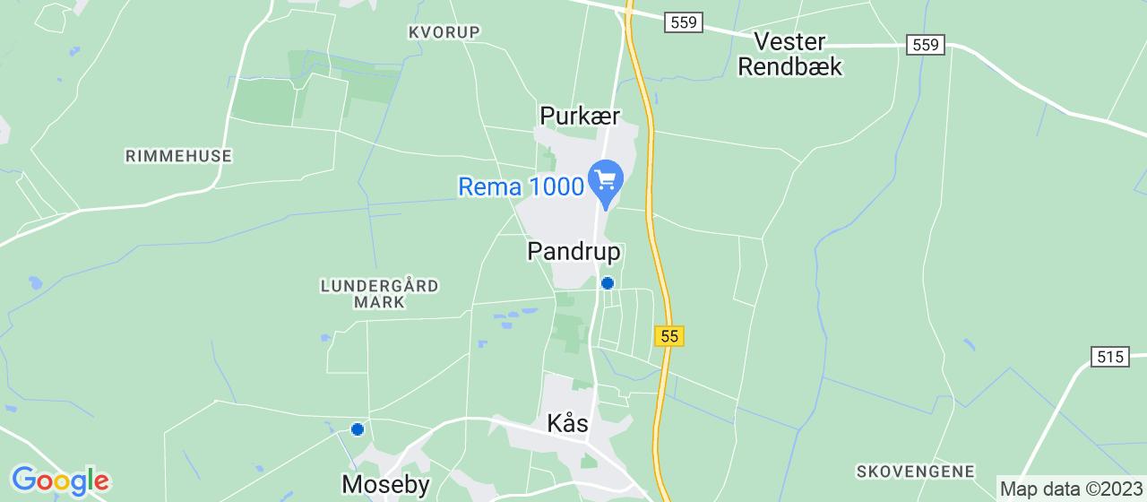 VVS firmaer i Pandrup