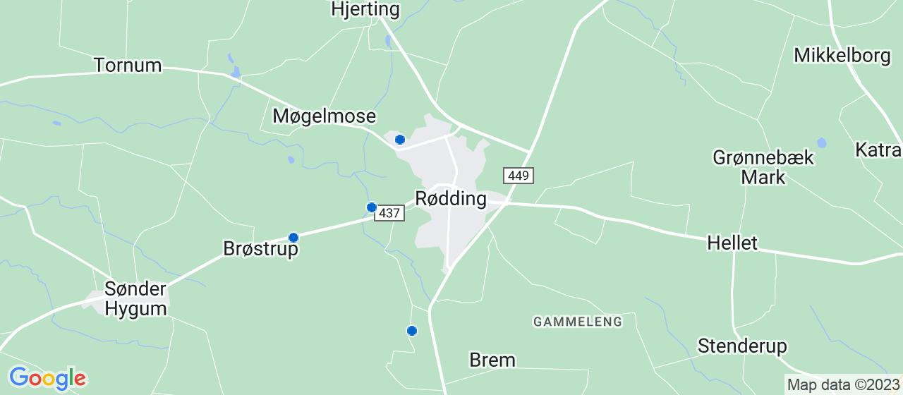 kloakfirmaer i Rødding