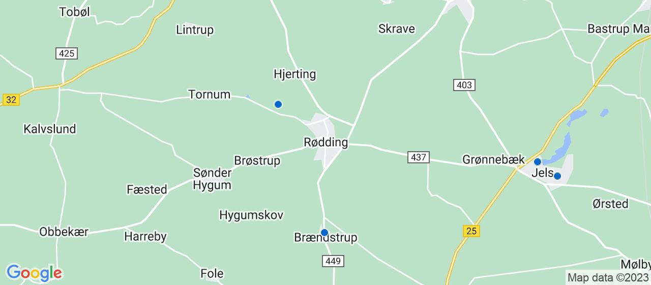 byggefirmaer i Rødding