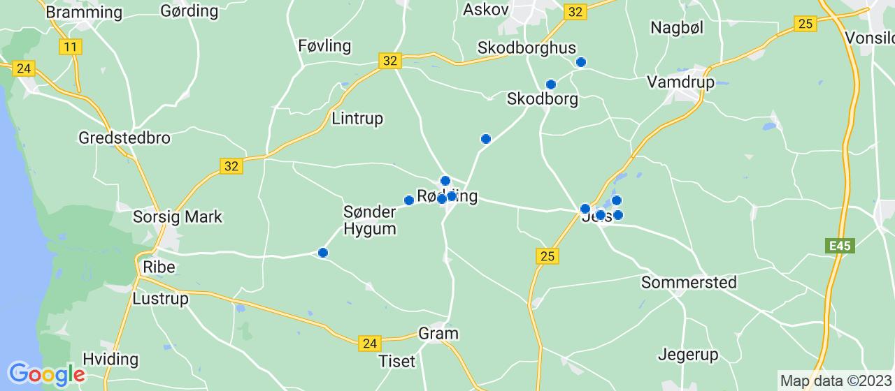 sandblæsning firmaer i Rødding