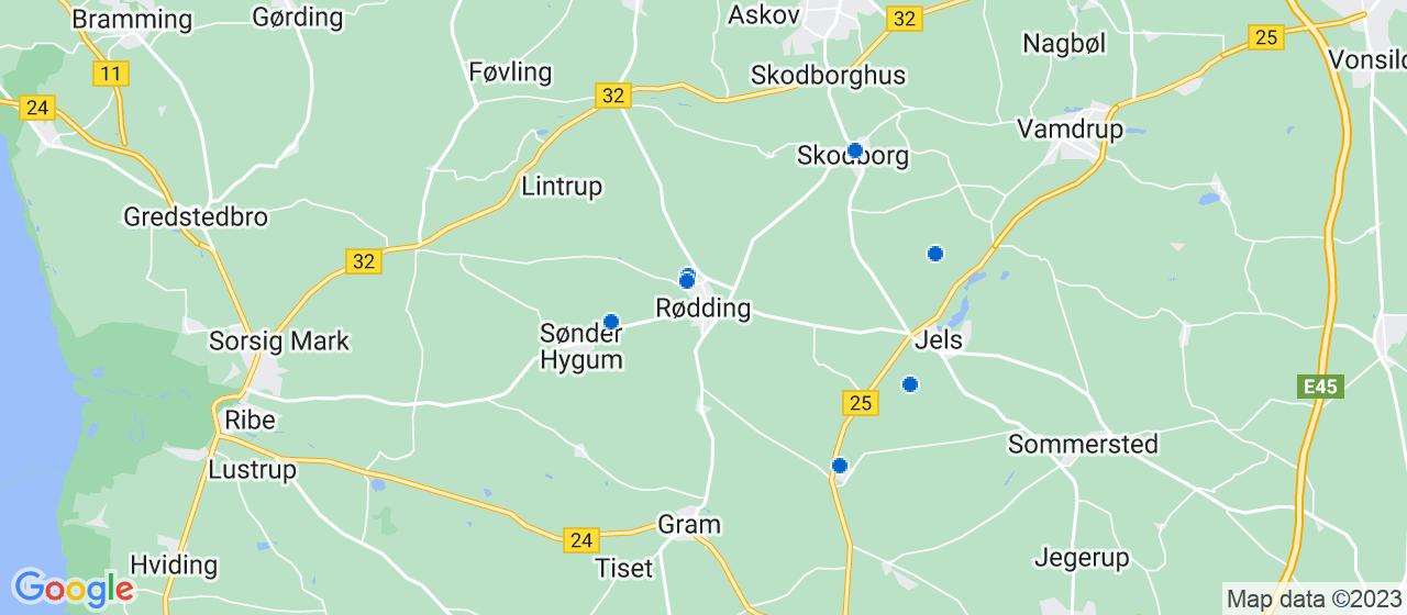 varmepumpe firmaer i Rødding