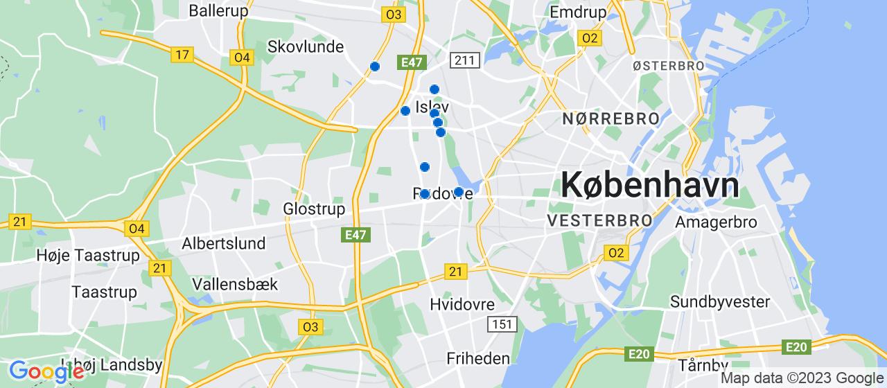 ejendomsmæglerfirmaer i Rødovre