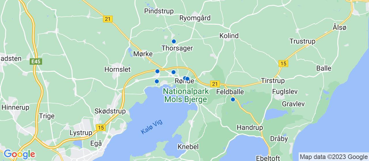 elektrikerfirmaer i Rønde