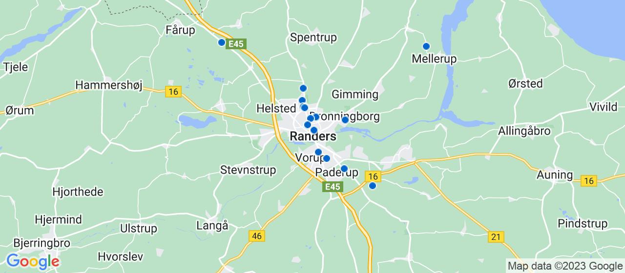 håndværkerfirmaer i Randers