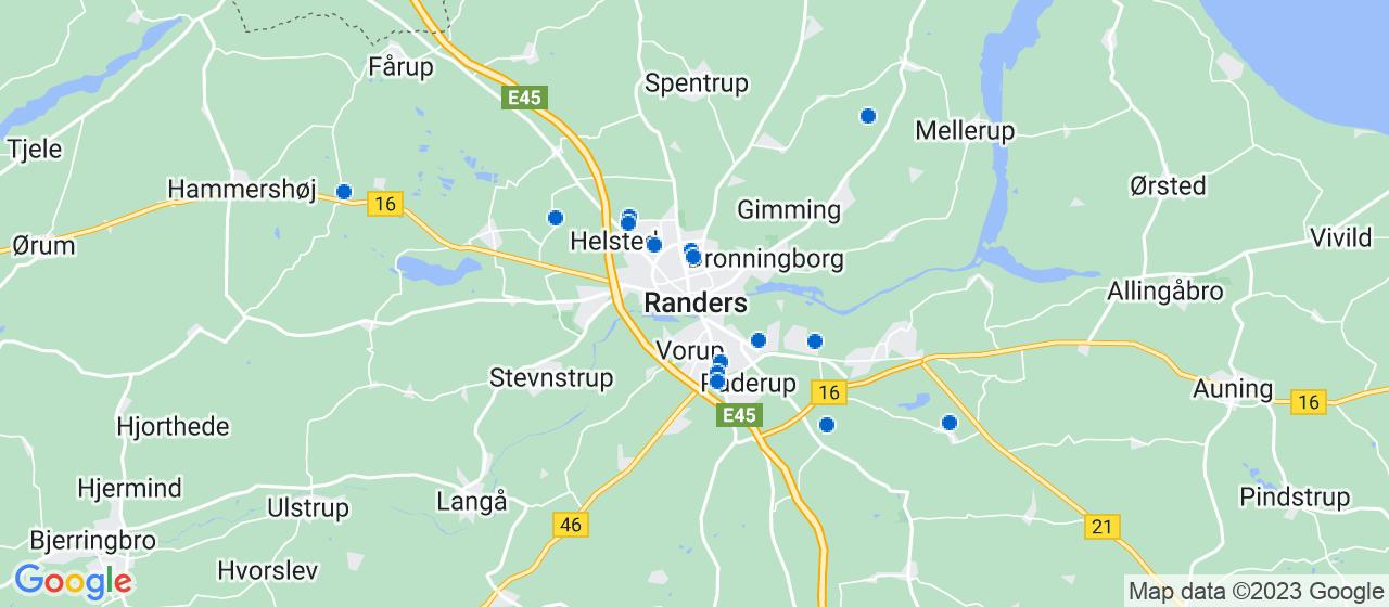 rengøringsfirmaer i Randers