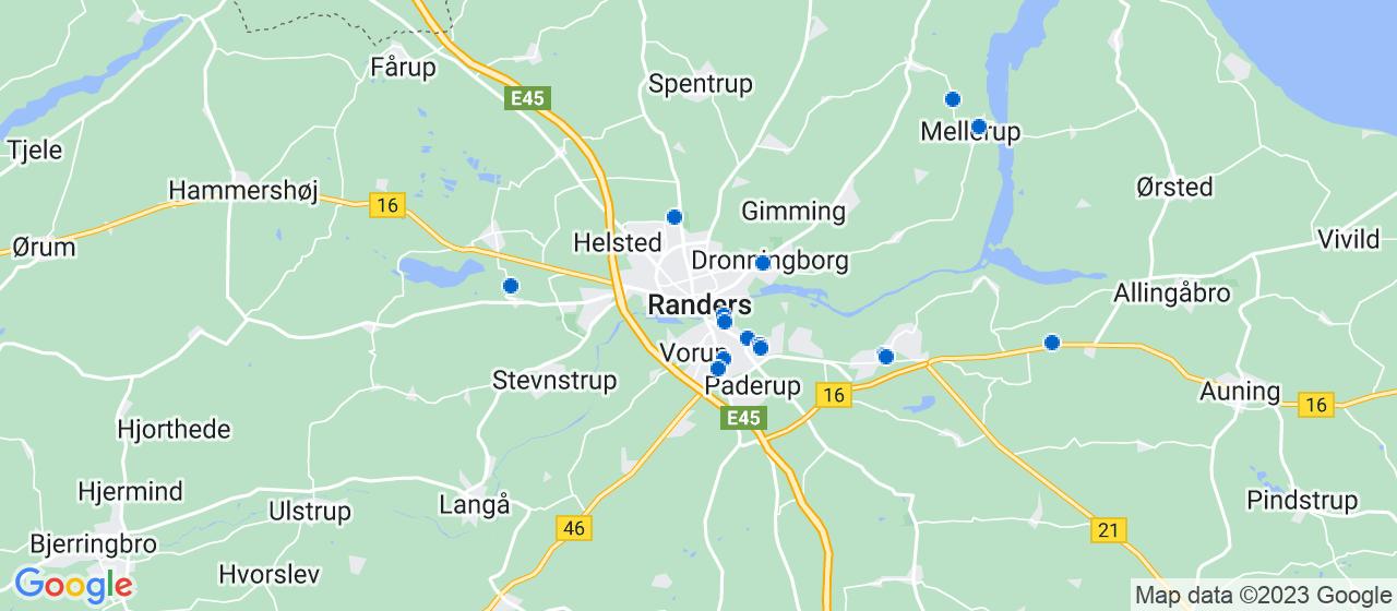 mekaniker firmaer i Randers