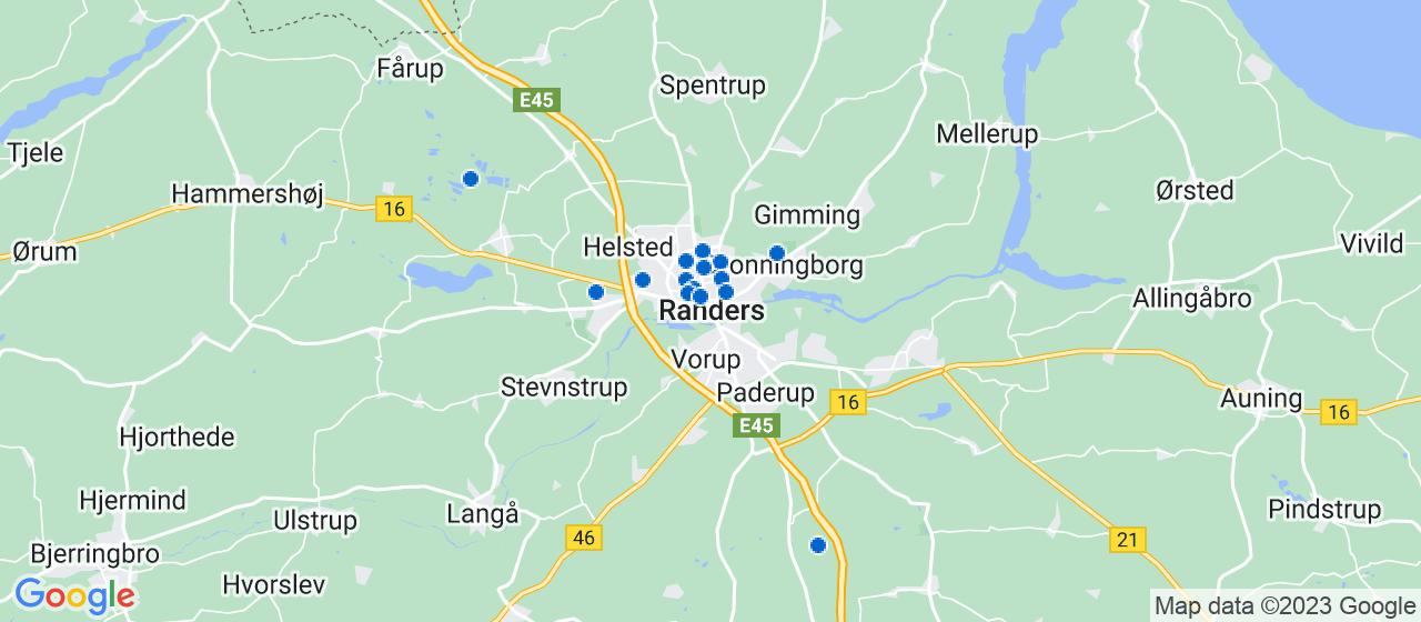 malerfirmaer i Randers