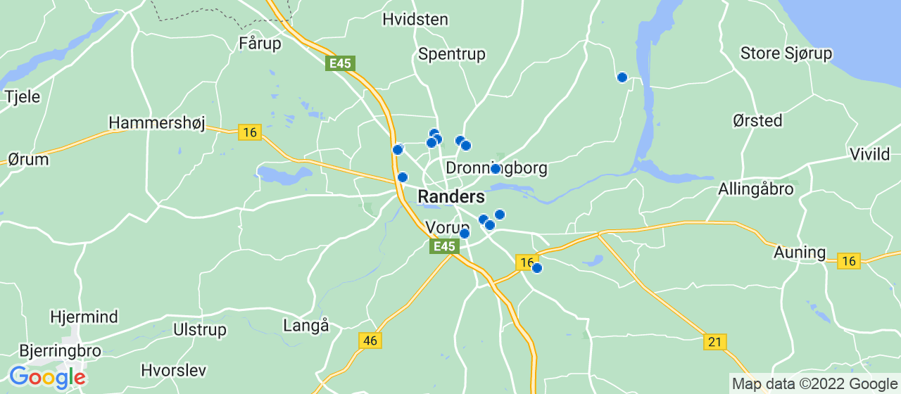 elektrikerfirmaer i Randers