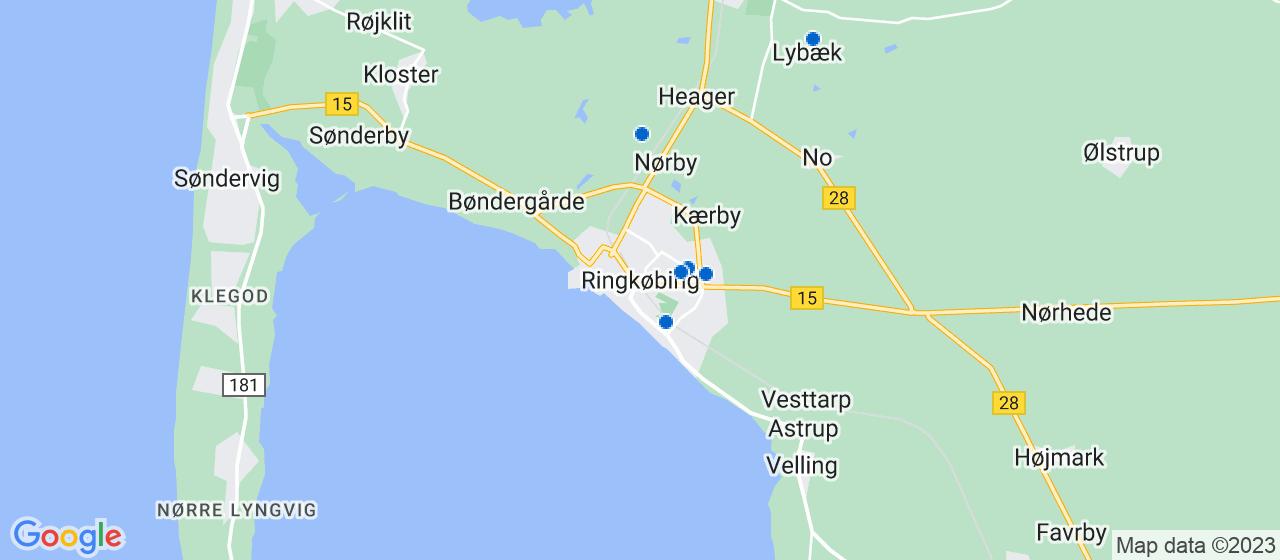 elektrikerfirmaer i Ringkøbing