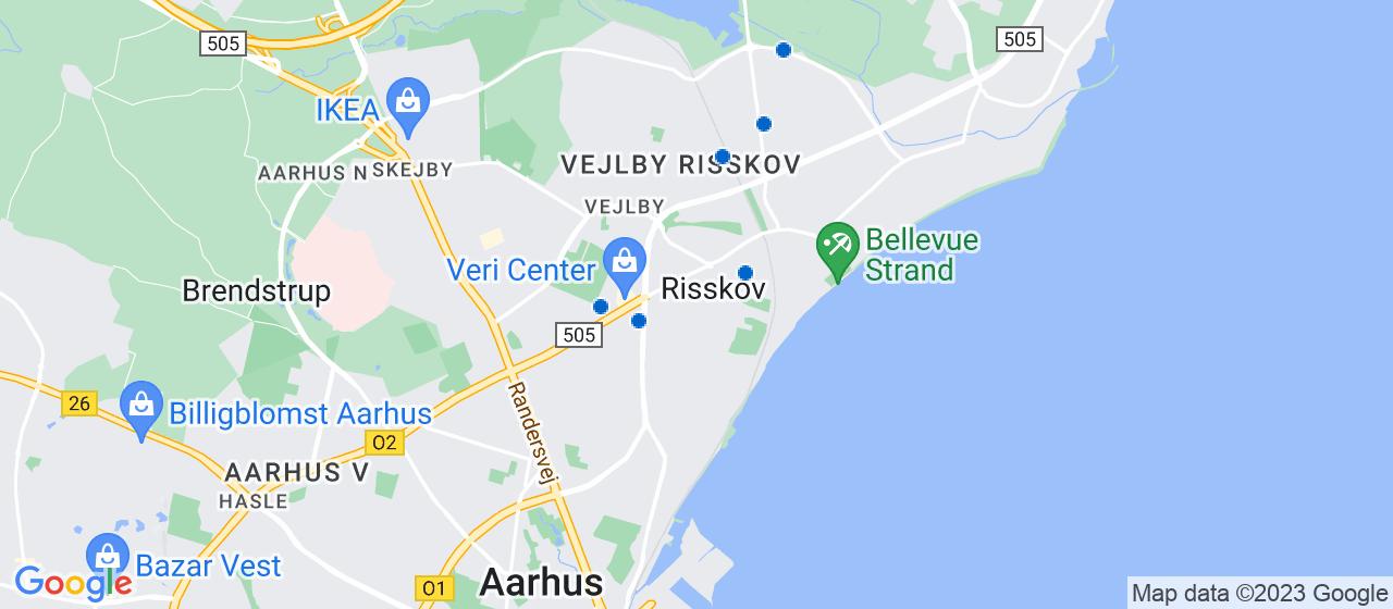 ejendomsservicefirmaer i Risskov
