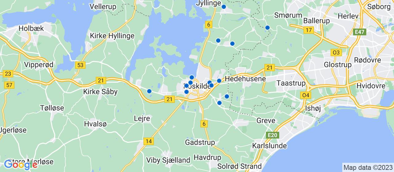 anlægsgartnerfirmaer i Roskilde