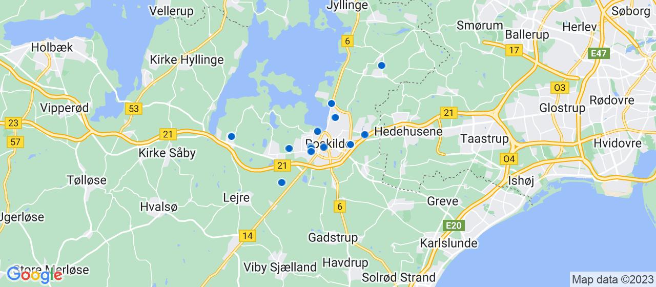 tagdækningsvirksomheder i Roskilde