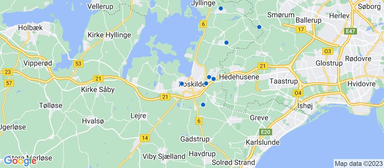 brolægger firmaer i Roskilde