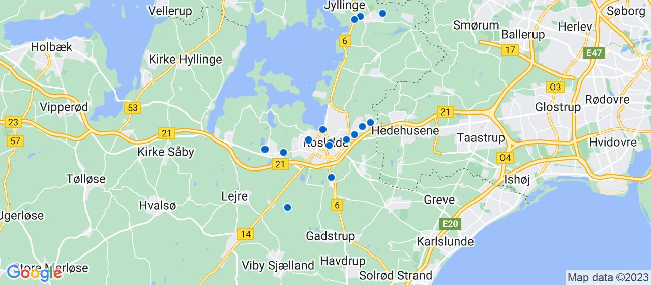 murerfirmaer i Roskilde