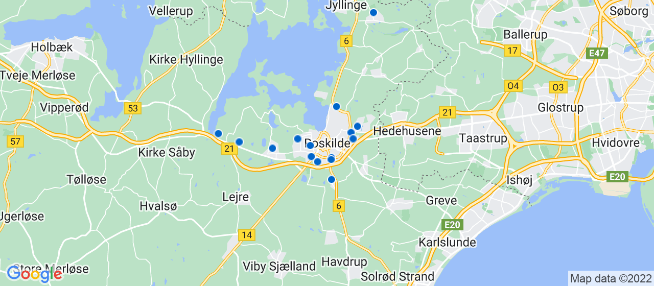 elektrikerfirmaer i Roskilde