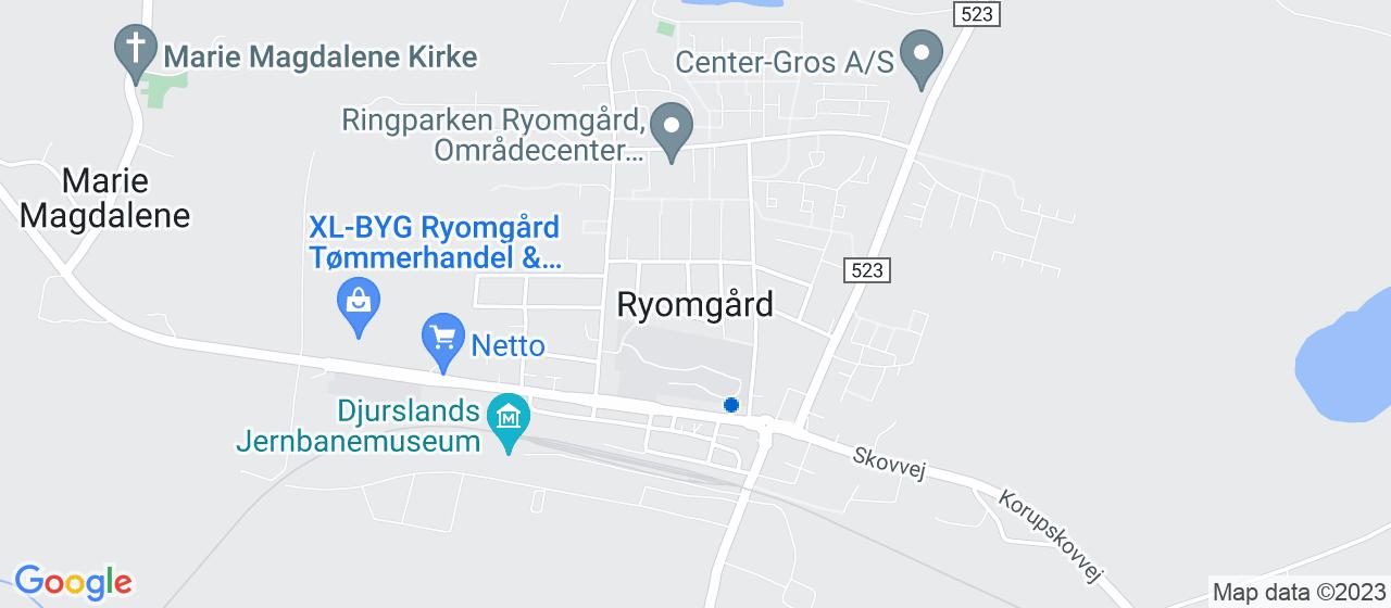 ejendomsmæglerfirmaer i Ryomgård