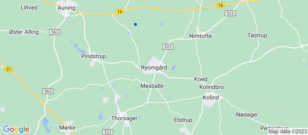 anlægsgartnerfirmaer i Ryomgård