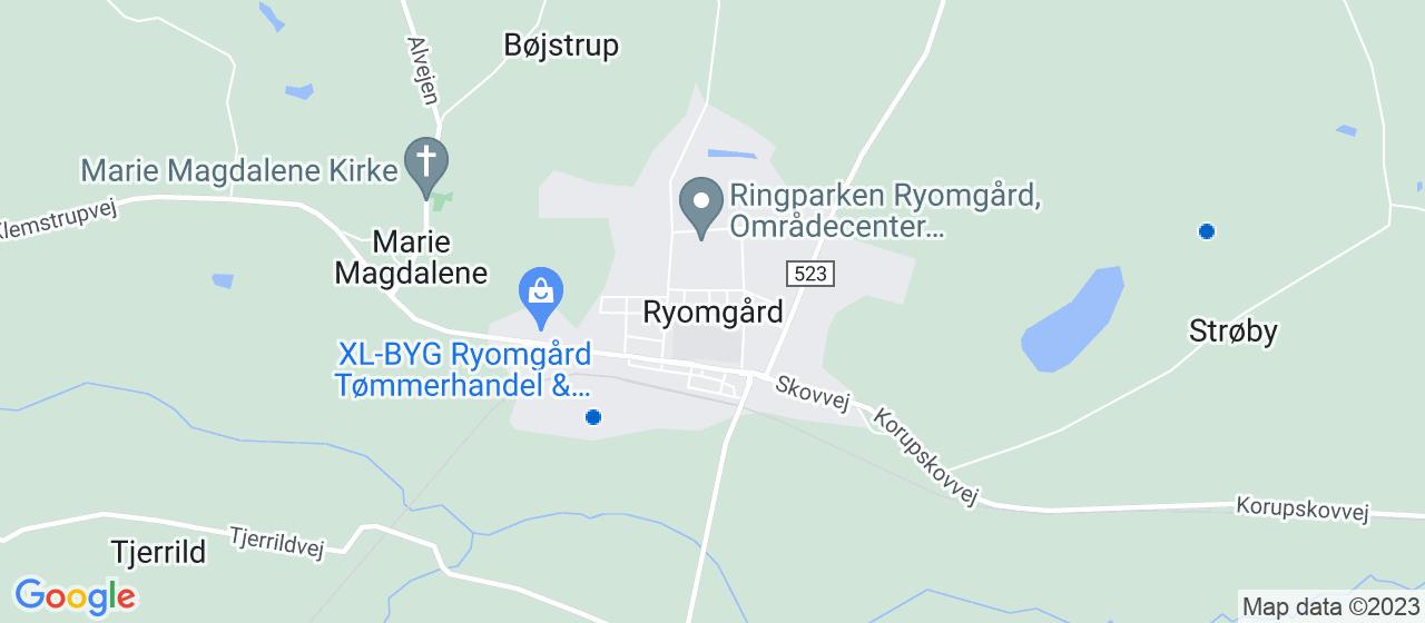 vvsfirmaer i Ryomgård