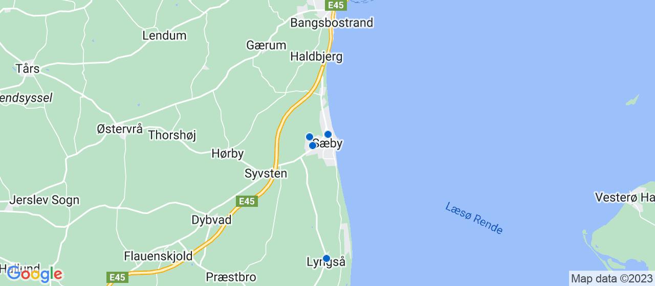 glarmesterfirmaer i Sæby