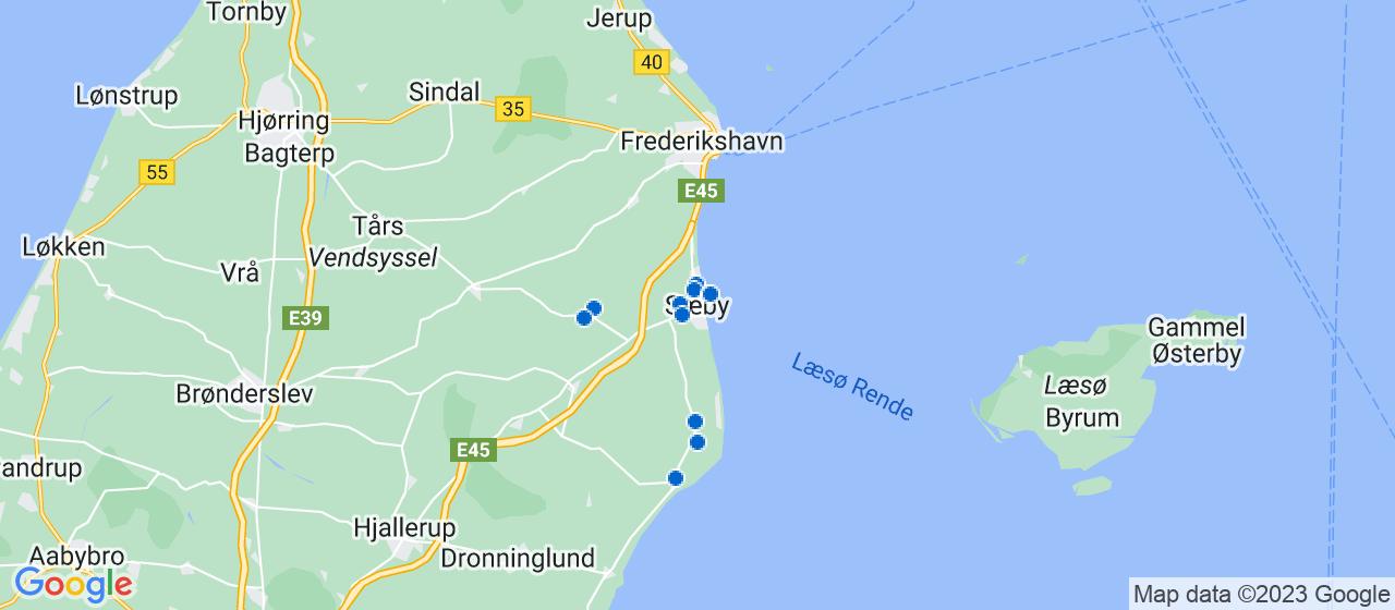 varmepumpe firmaer i Sæby