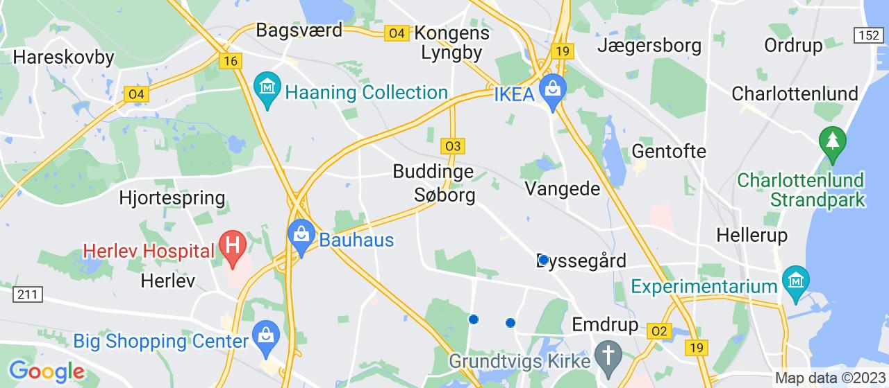 glarmesterfirmaer i Søborg
