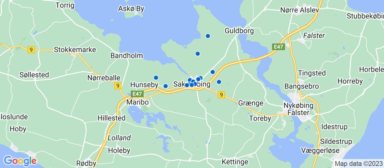 mekaniker firmaer i Sakskøbing