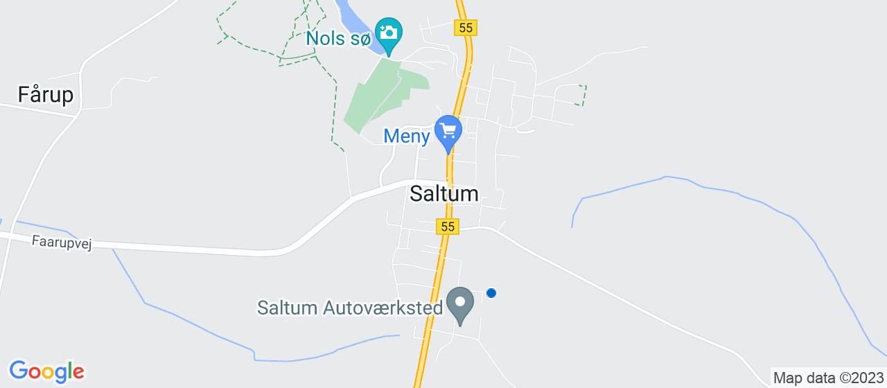 anlægsgartnerfirmaer i Saltum