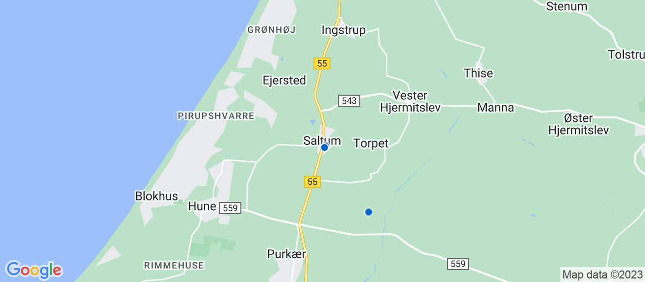 byggefirmaer i Saltum