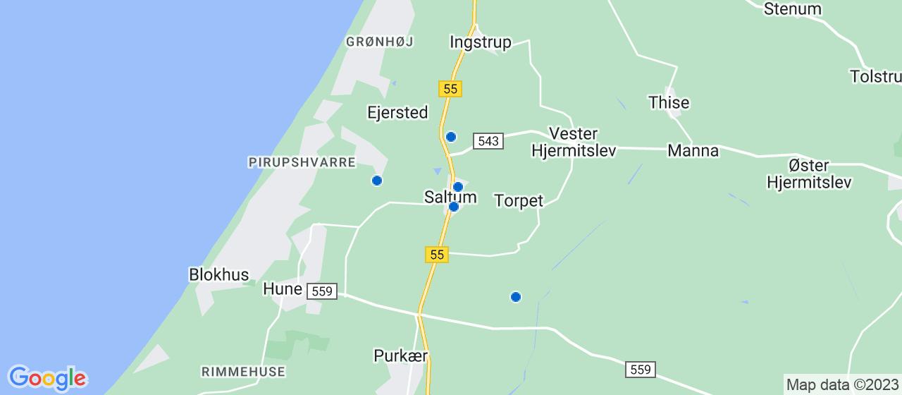 murerfirmaer i Saltum
