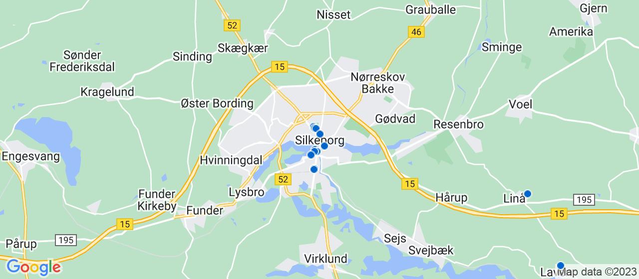 ejendomsmæglerfirmaer i Silkeborg