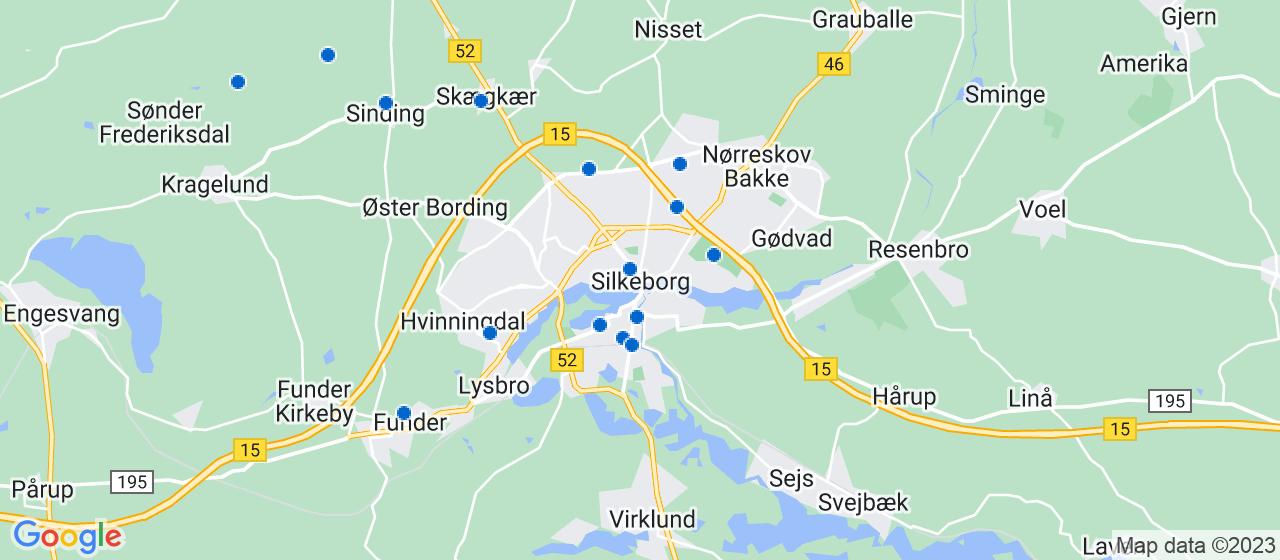 sandblæsning firmaer i Silkeborg