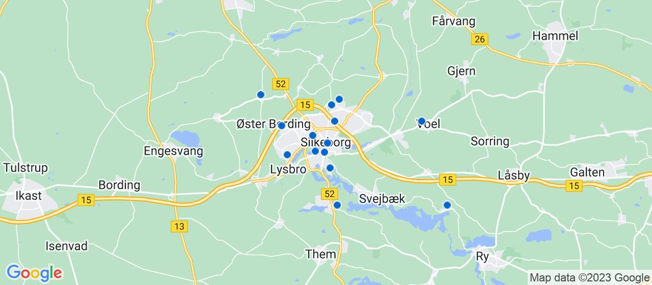 entreprisefirmaer i Silkeborg