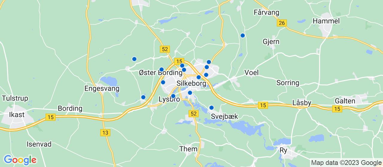 anlægsgartnerfirmaer i Silkeborg