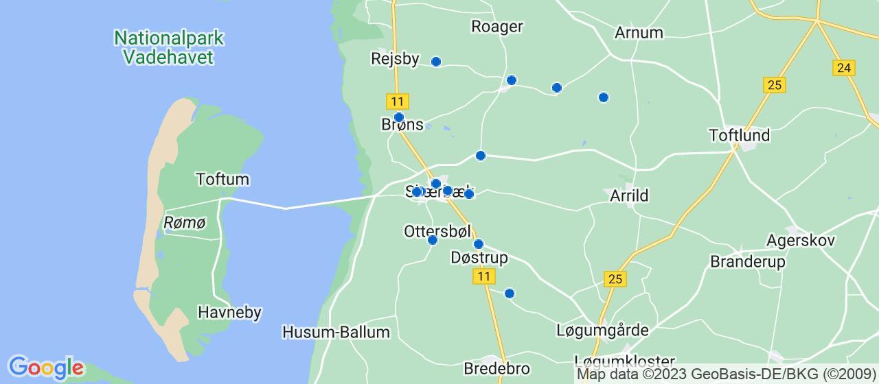 byggefirmaer i Skærbæk