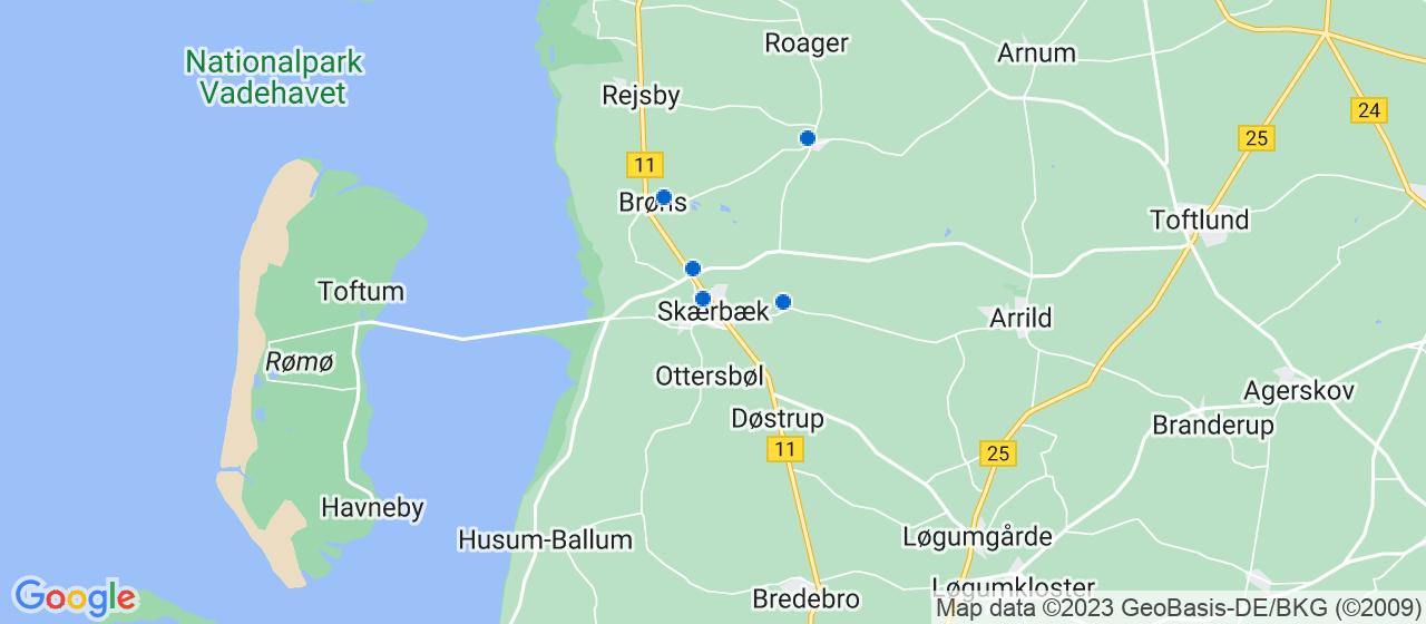vvsfirmaer i Skærbæk