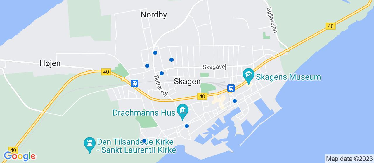 arkitektfirmaer i Skagen