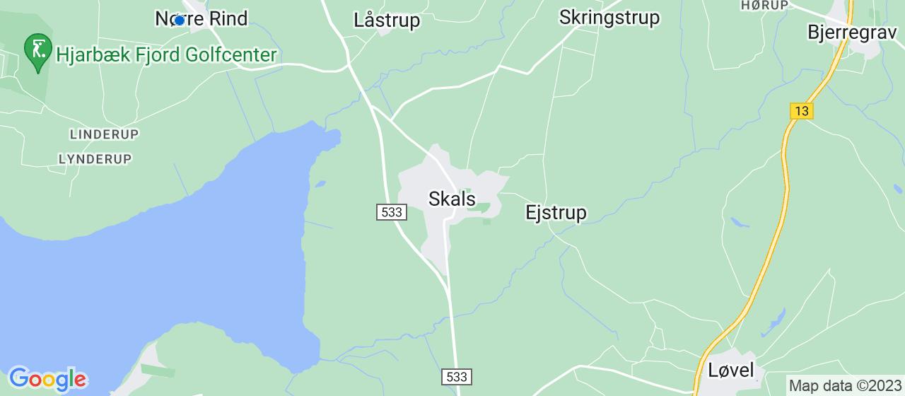 flyttefirmaer i Skals
