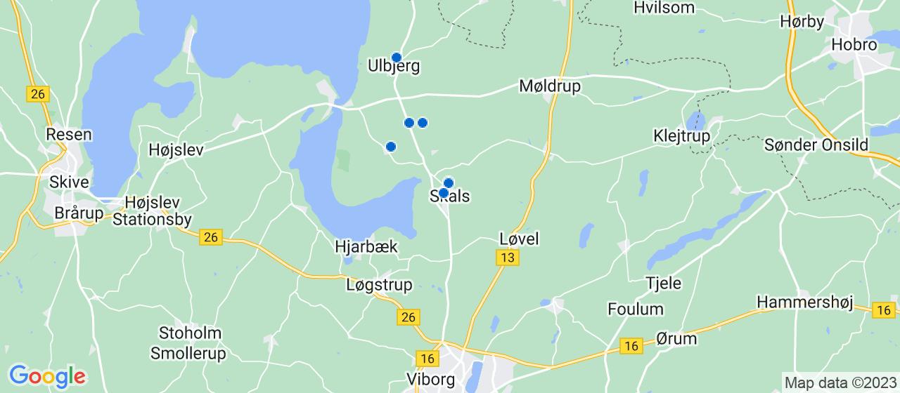 håndværkerfirmaer i Skals