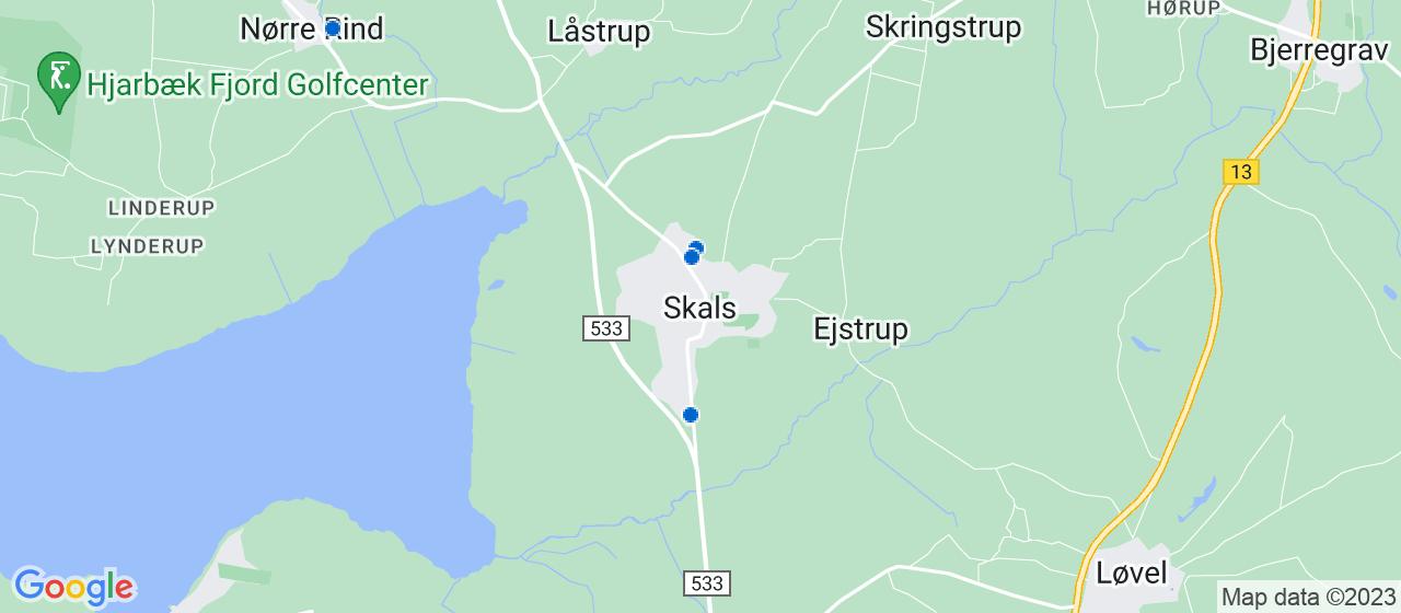 varmepumpe firmaer i Skals