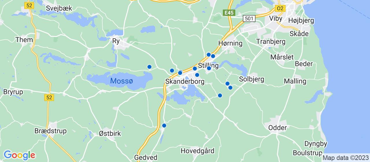 entreprisefirmaer i Skanderborg