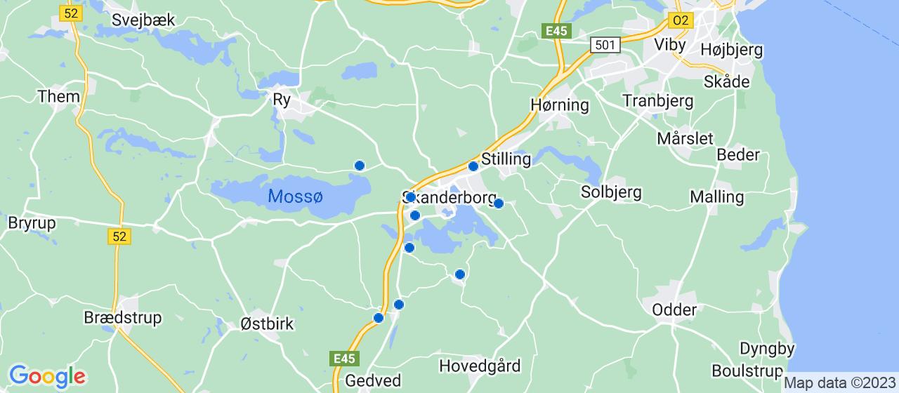 kloakfirmaer i Skanderborg
