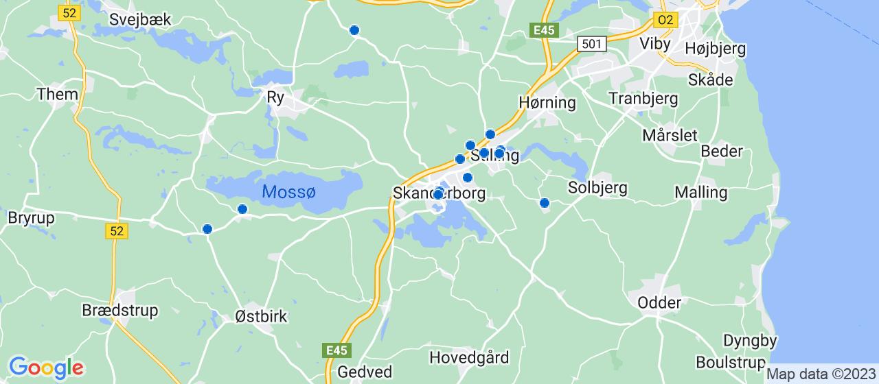 elektrikerfirmaer i Skanderborg
