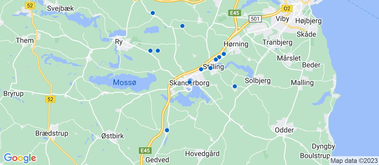 vvsfirmaer i Skanderborg